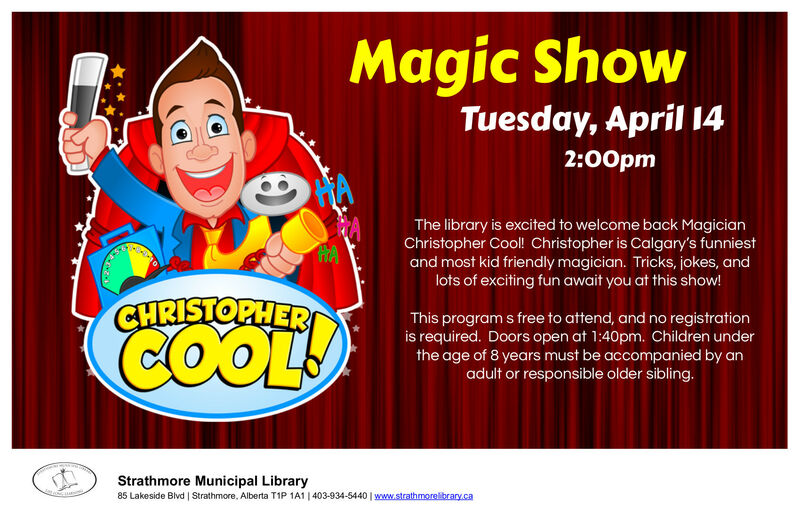 Magic Show April 14