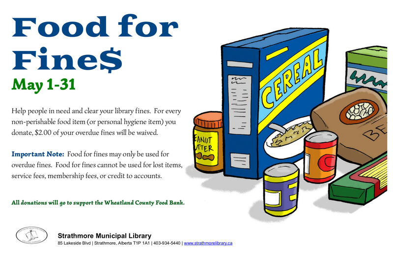 Food for Fines May