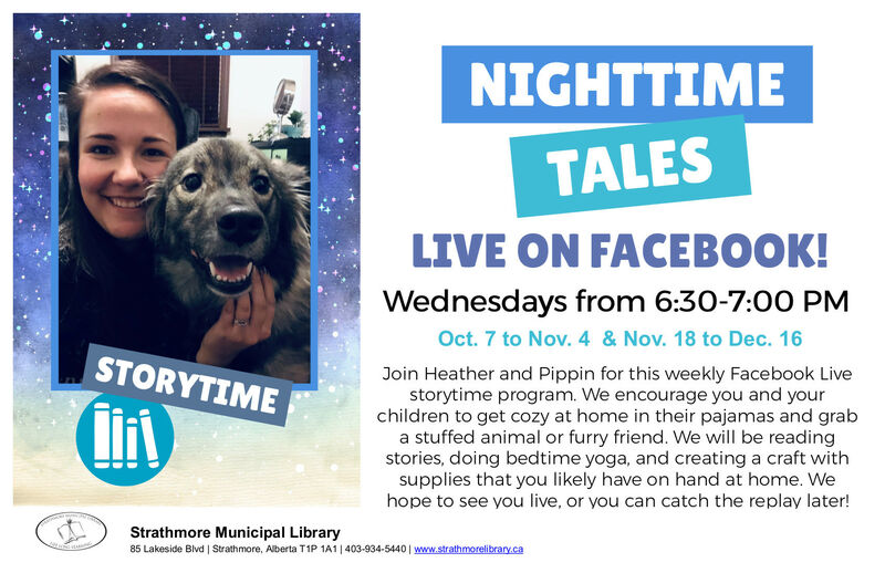Nighttime Tales Oct 7 to Dec 16